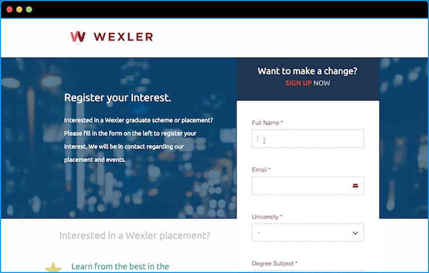 desktop web form