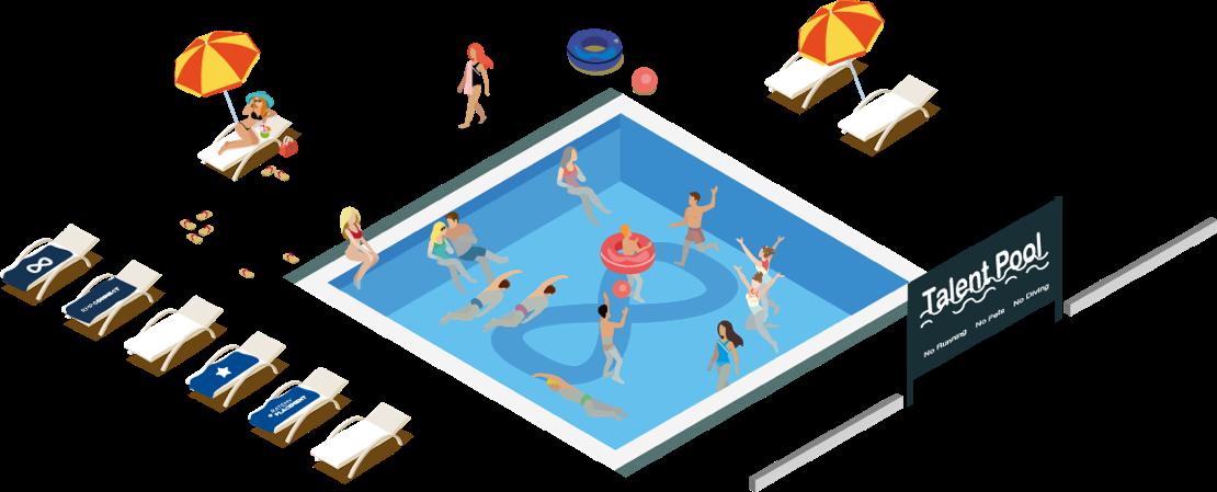 build talent pool